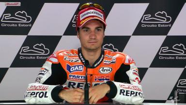 Estoril 2012 - MotoGP - QP - Interview - Dani Pedrosa