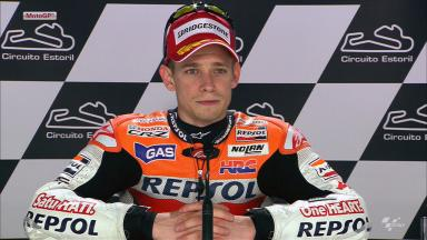 Estoril 2012 - MotoGP - QP - Interview - Casey Stoner