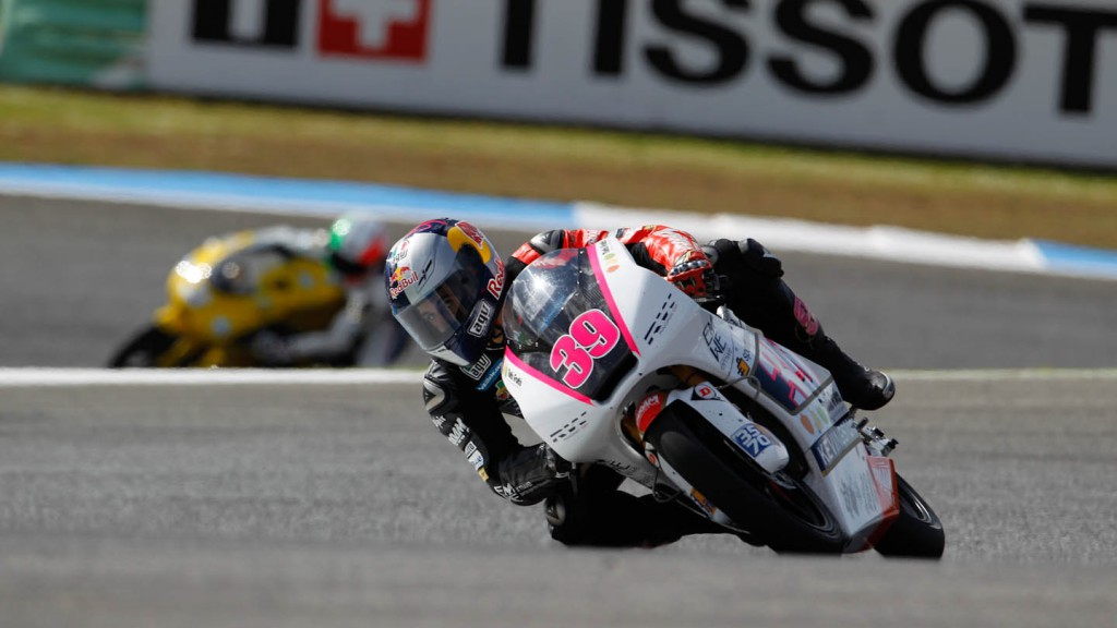 Luis Salom, RW Racing GP, Estoril QP