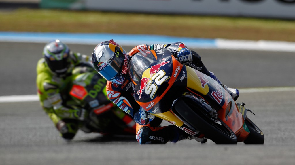 Danny Kent, Red Bull KTM Ajo, Estoril QP