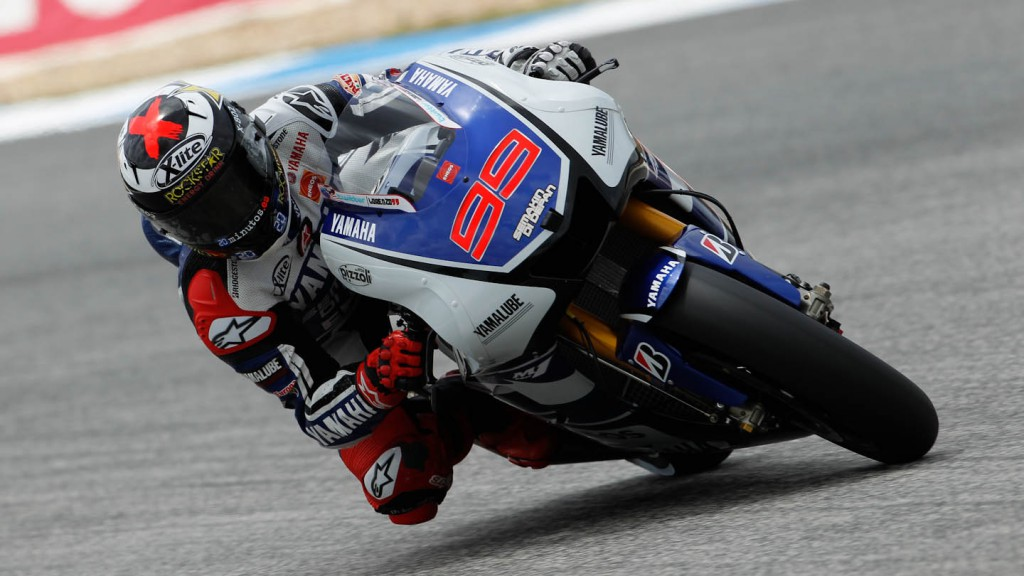 Jorge Lorenzo, Yamaha Factory Racing, Estoril FP3