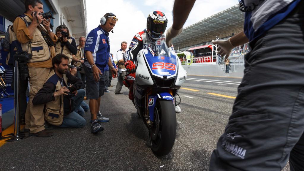 Jorge Lorenzo, Yamaha Factory Racing, Estoril QP