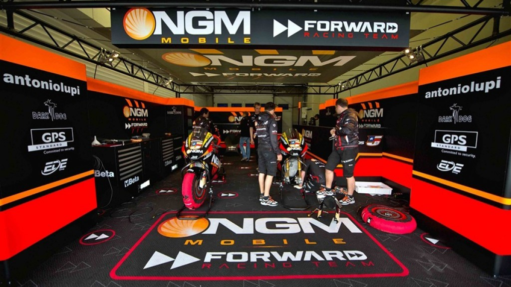 Edwards NGM Mobile Forward Racing garage