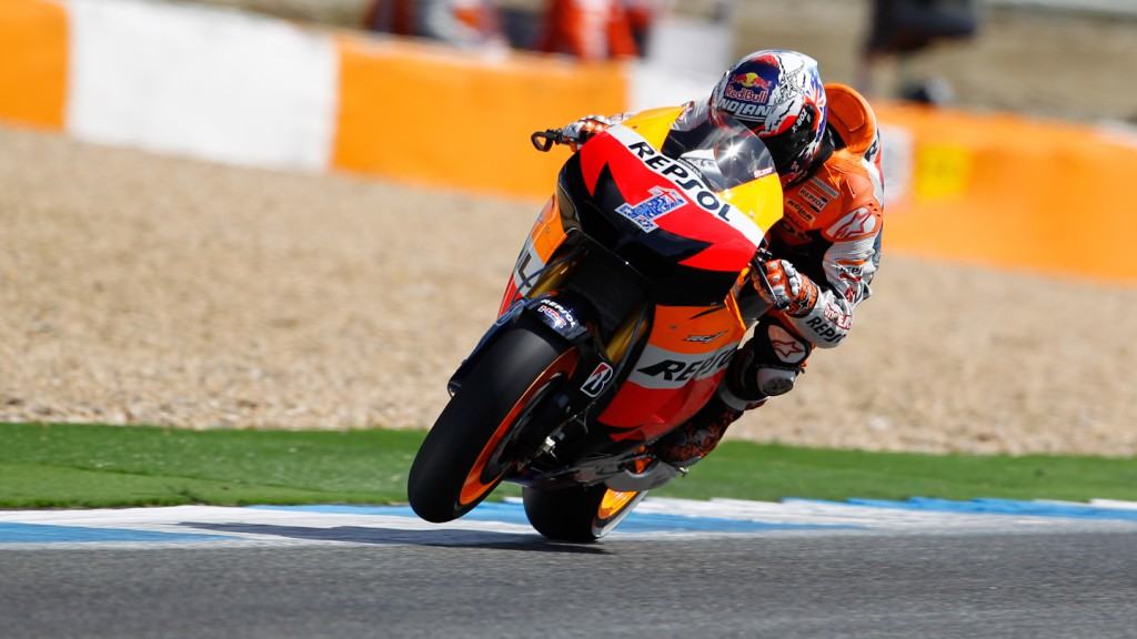 Casey Stoner, Repsol Honda Team, Estoril RAC
