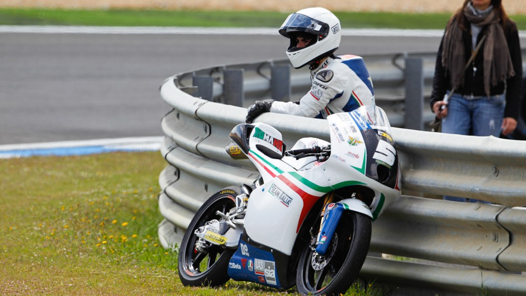 Romano Fenati, Team Italia FMI, Estoril RAC