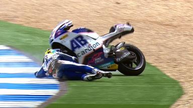 Estoril 2012 - MotoGP - Race - Action - Karel Abraham - Crash