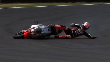 Estoril 2012 - MotoGP - Race - Action - Mattia Pasini - Crash