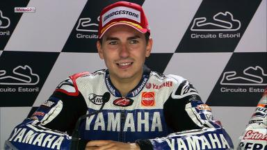Estoril 2012 - MotoGP - Race - Interview - Jorge Lorenzo