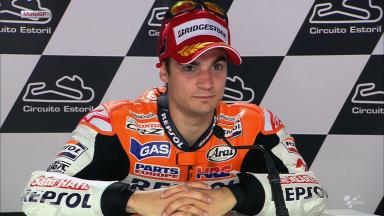 Estoril 2012 - MotoGP - Race - Interview - Dani Pedrosa