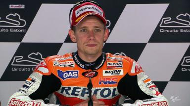 Estoril 2012 - MotoGP - Race - Interview - Casey Stoner