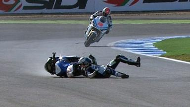 Estoril 2012 - MotoGP - Warm Up - Action - Ivan Silva - Crash