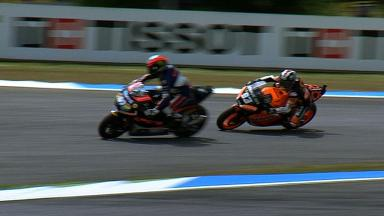 Estoril 2012 - Moto2 - Race - Action - Espargaro and Marquez