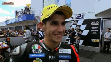 Estoril 2012 - Moto3 - Race - Interview - Luis Salom