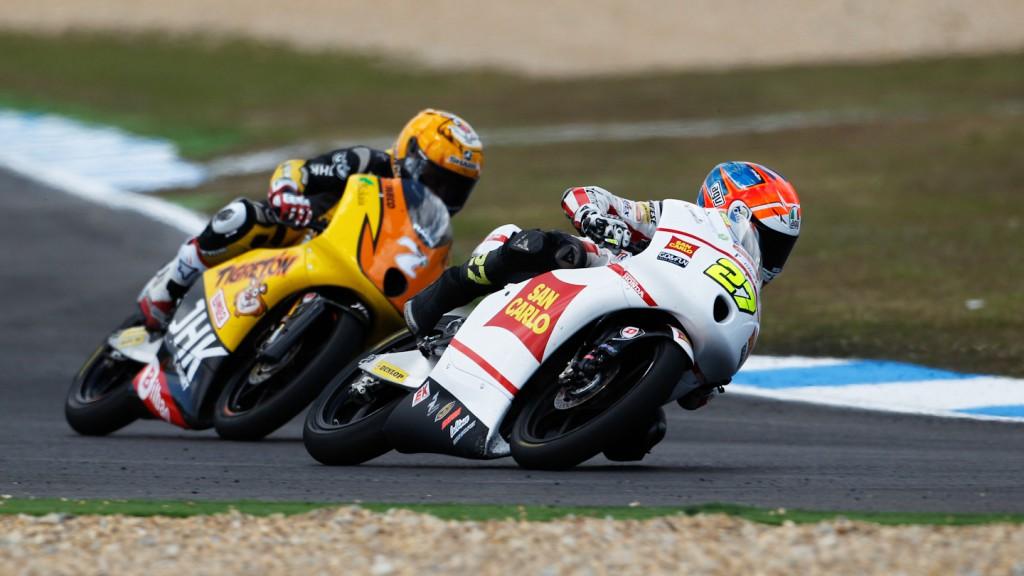 Niccolo Antonelli, San Carlo Honda Gresini Moto3, Estoril RAC