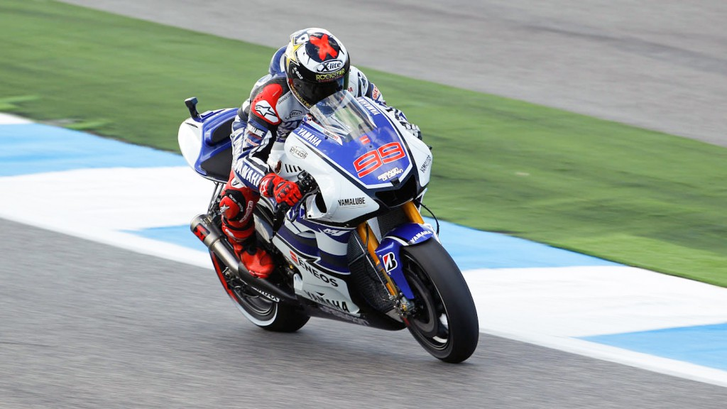 Jorge Lorenzo, Yamaha Factory Racing, Estoril WUP