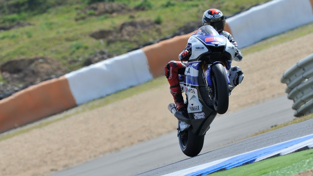 Jorge Lorenzo, Yamaha Factory Racing, Estoril RAC