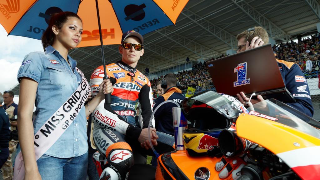 Casey Stoner, Repsol Honda Team, Estoril RAC - © Copyright Alex Chailan & David Piolé