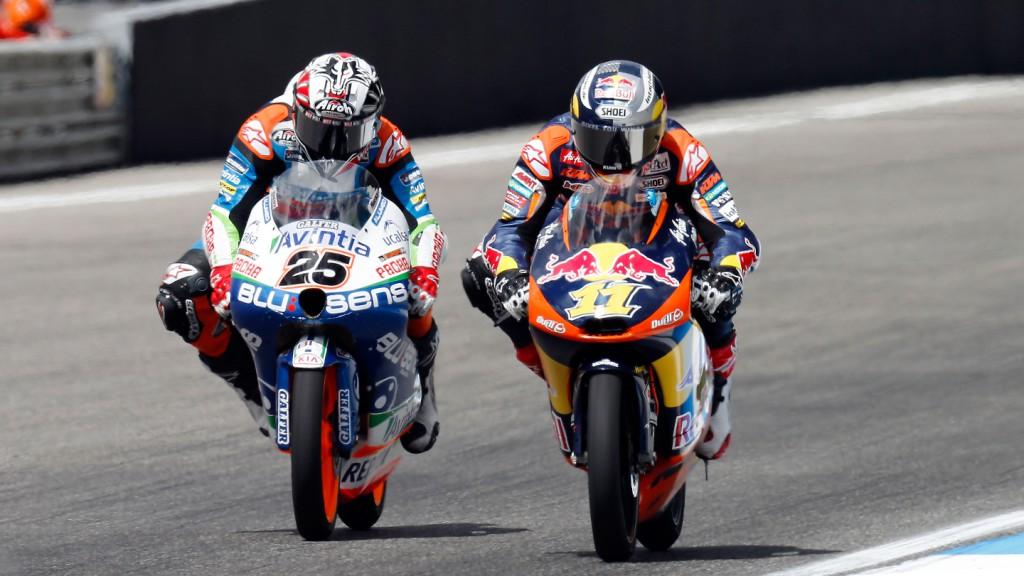Maverick Viñales, Sandro Cortese, Blusens Avintia, Red Bull KTM Ajo, Estoril RAC
