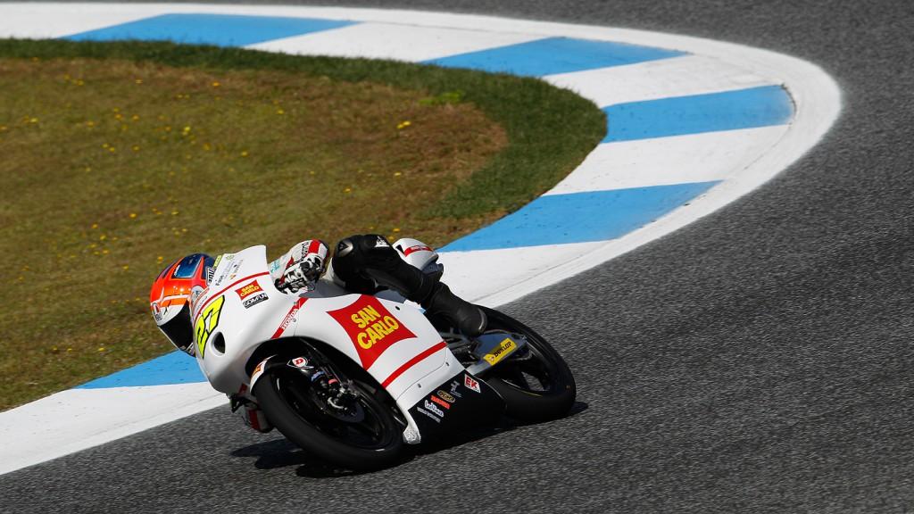 Niccolo Antonelli, San Carlo Gresini Moto3, Estoril