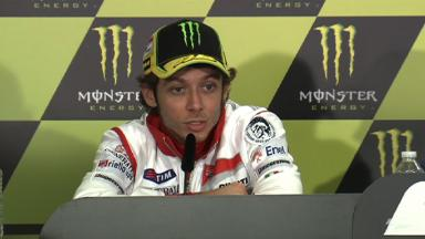 Le Mans 2012 - MotoGP - Pre-event - Press Conference - Valentino Rossi