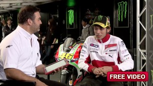 Rossi interview Le Mans