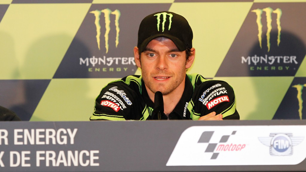Cal Crutchlow, Monster Yamaha Tech 3, Monster Grand Prix de France Press Conference