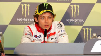 Valentino Rossi, Ducati Team, Monster Grand Prix de France Press Conference