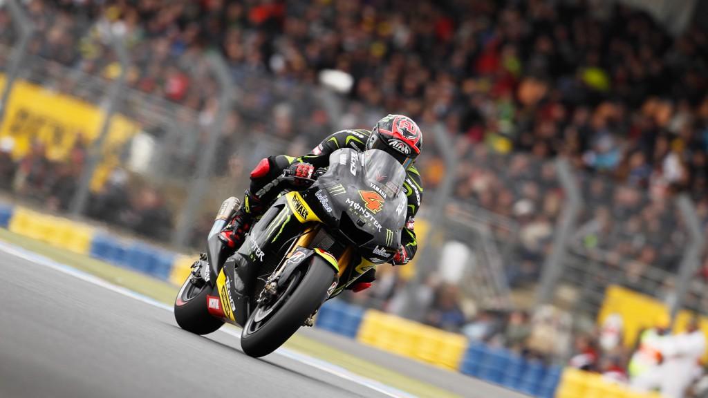 Andrea Dovizioso, Monster Yamaha Tech 3, Le Mans FP2