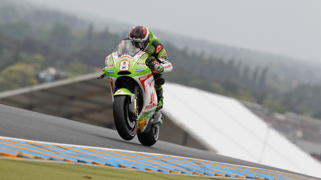 Hector Barbera, Pramac Racing Team, Le Mans FP2