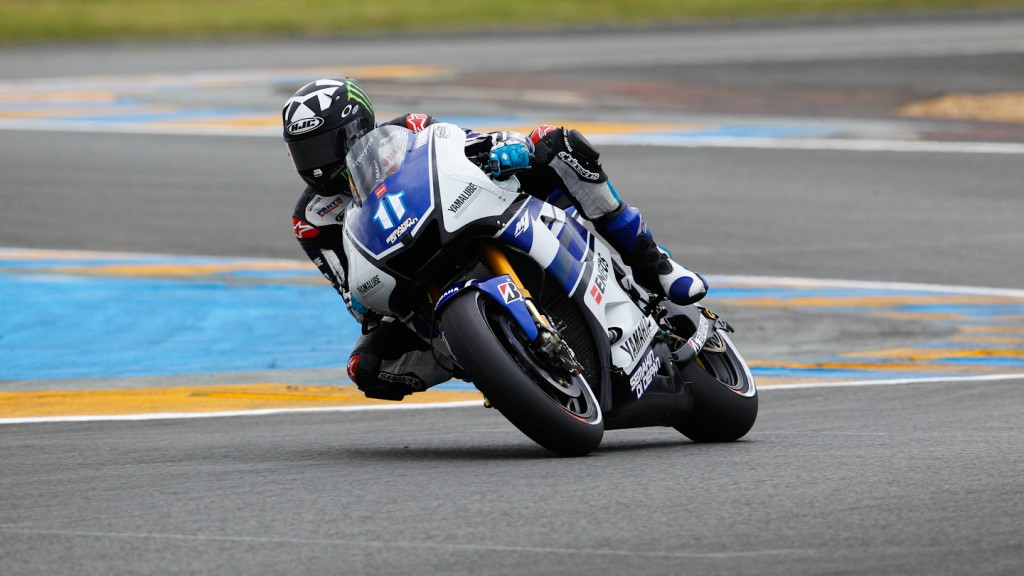 Ben Spies, Yamaha Factory Racing, Le Mans FP2