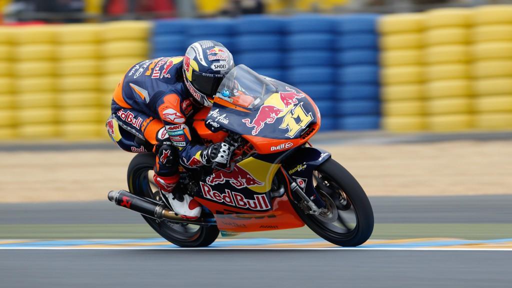 Sandro Cortese, Red Bull KTM Ajo, Le Mans FP1