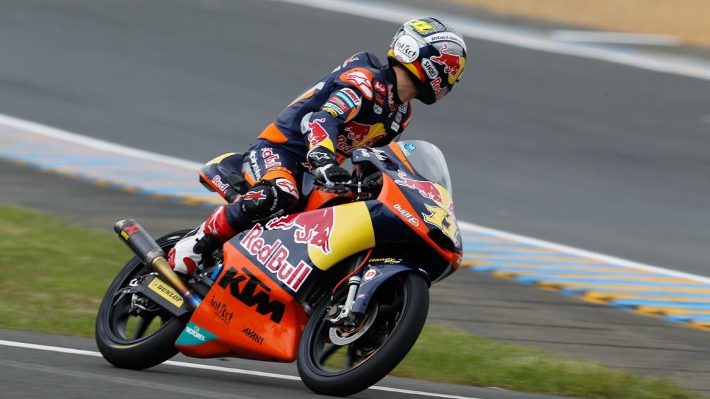 Sandro Cortese, Red Bull KTM Ajo, Le Mans FP2