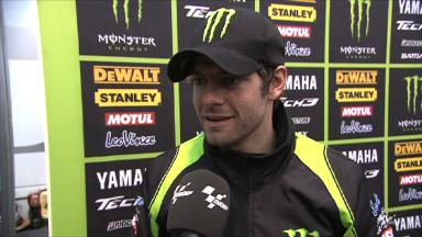Crutchlow needs to improve balance of M1