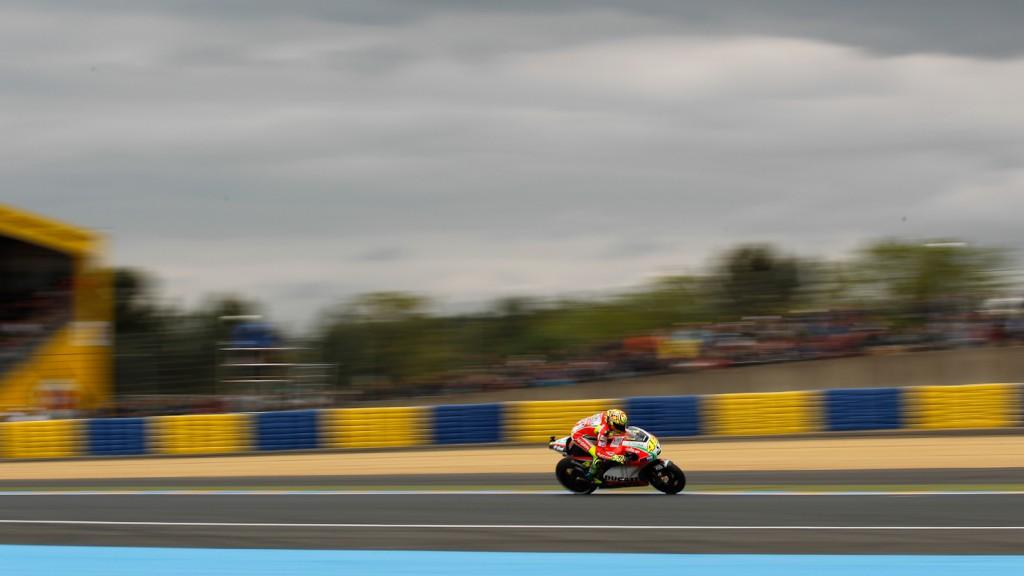Valentino Rossi, Ducati Team, le Mans FP2