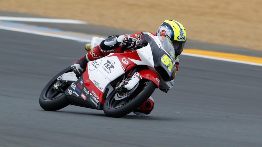 Kenta Fuji, Technomag-CIP-TSR, Le Mans FP2