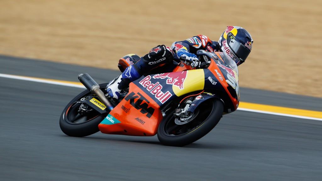 Danny Kent, Red Bull KTM Ajo, Le Mans FP2