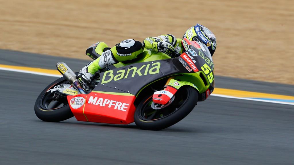 Hector Faubel, Bankia Aspar Team. Le Mans FP2