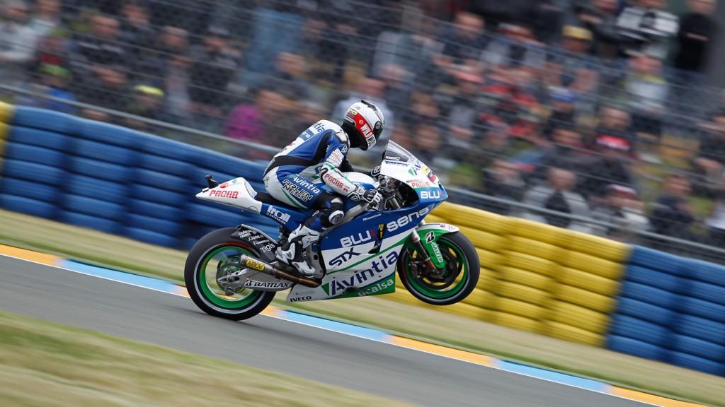 Yonny Hernandez, Avintia Blusens, le Mans FP2