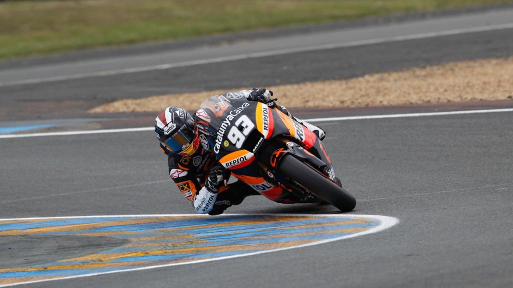 Marc Marquez, Team CatalunyaCaixa Repsol, Le Mans FP1