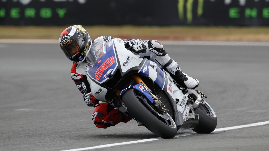 Jorge Lorenzo, Yamaha Factory Racing, Le Mans FP1