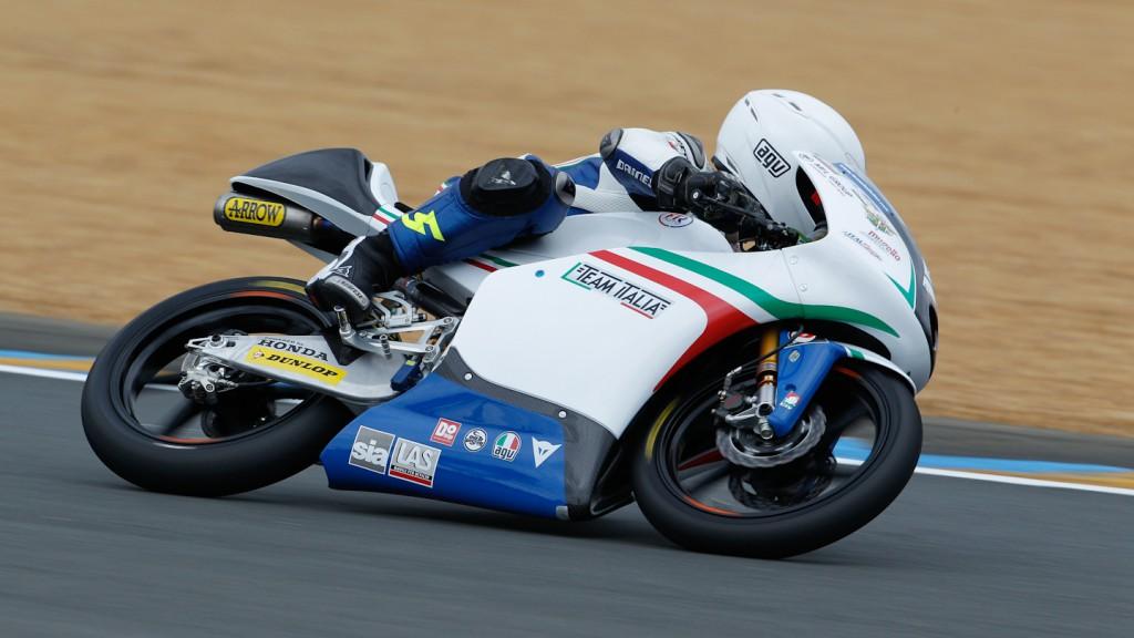 Romano Fenati, Team Italia FMI, Le Mans FP3