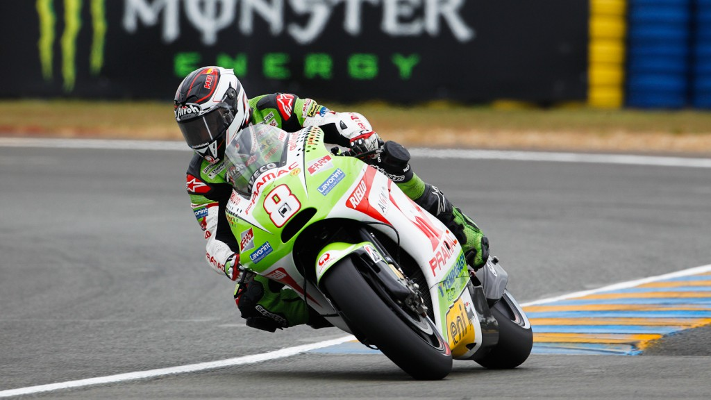Hector Barbera, Pramac Racing Team, Le Mans QP