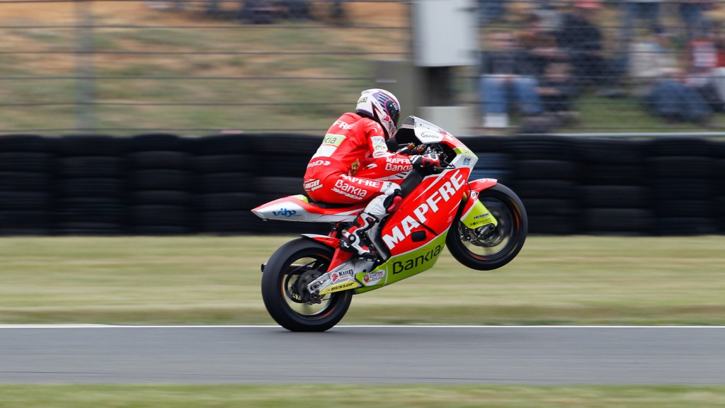 Nico Terol, Mapfre Aspar Team, Le Mans QP