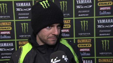Le Mans 2012 - MotoGP - QP - Interview - Cal Crutchlow