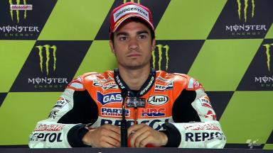 Le Mans 2012 - MotoGP - QP - Interview - Dani Pedrosa