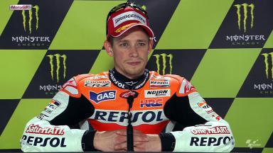 Le Mans 2012 - MotoGP - QP - Interview - Casey Stoner