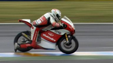 Le Mans 2012 - Moto3 - QP - Action - Danny Webb - Crash