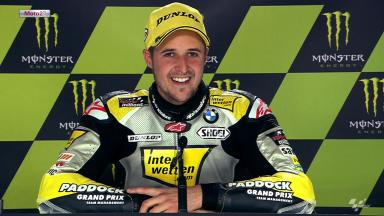 Le Mans 2012 - Moto2 - QP - Interview - Thomas Luthi
