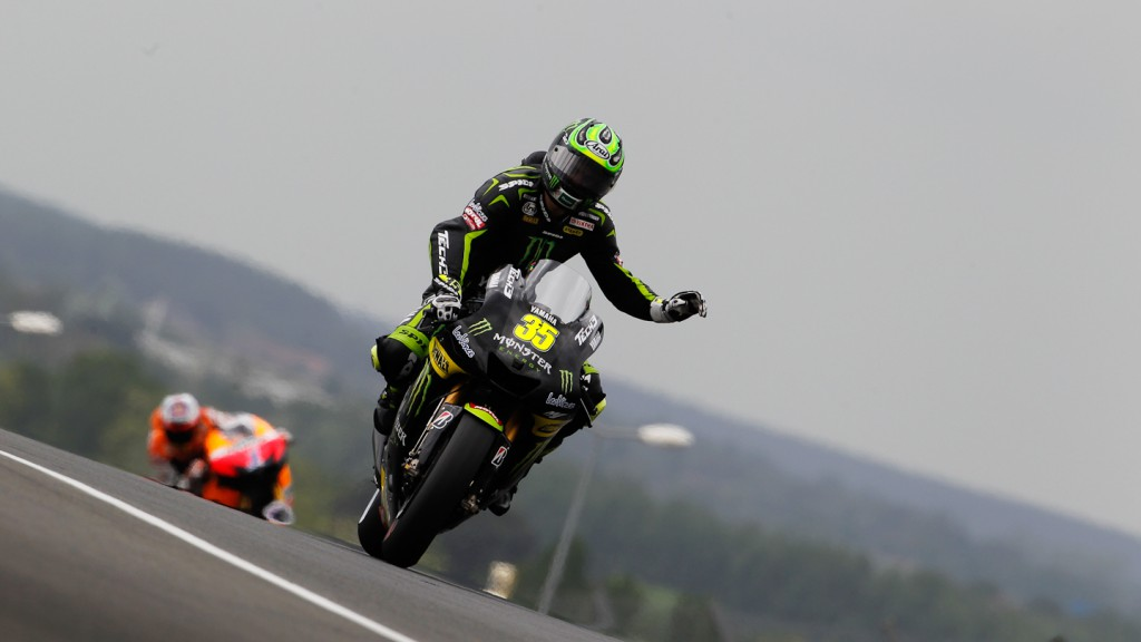 Cal Crutchlow, Monster Yamaha Tech 3, Le Mans FP3