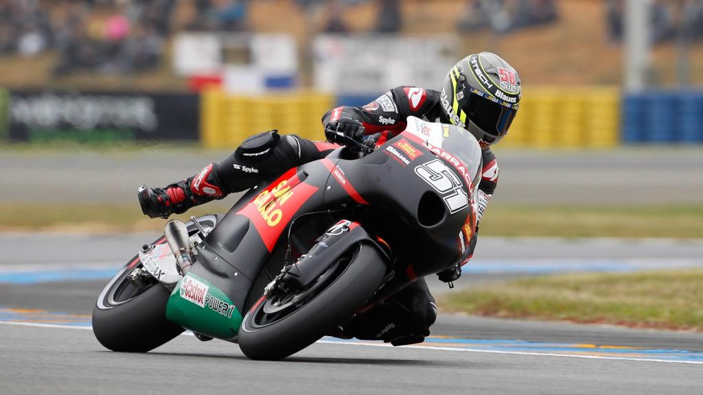 Michele Pirro, San Carlo Honda Gresini, Le Mans QP